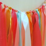easy ribbon garland