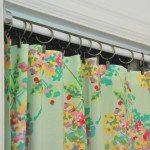 no-sew curtain closet