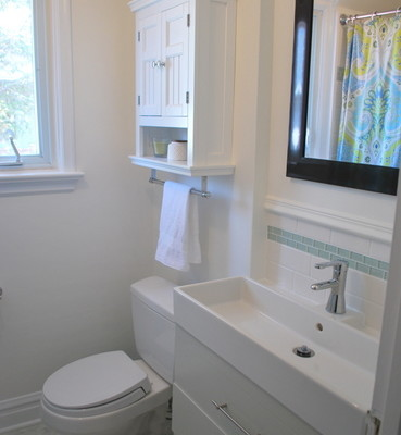 bathroom reno: before + after