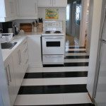 installing peel 'n stick vinyl tile
