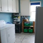 laundry room makeover: before + after