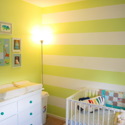 nursery makeover: before + after