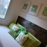 easy wooden headboard