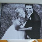 a wedding photobook