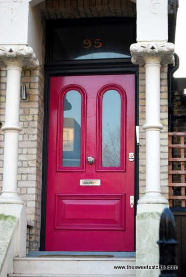 Colorful Front Doors: Seeing the Rainbow