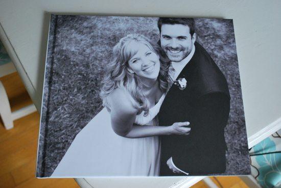 making a wedding photo book