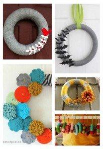 pinterest challenge: a DIY autumn wreath