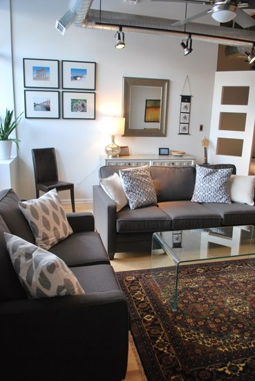 Collins Condo Redesign Living Room Reveal