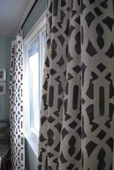 stencil curtains