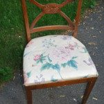 before + after: an easy chair makeover
