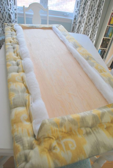 The Easy Way To Make An Upholstered Diy Headboard The