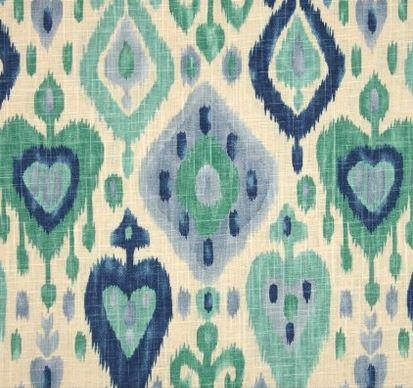 richloom fabric - blues
