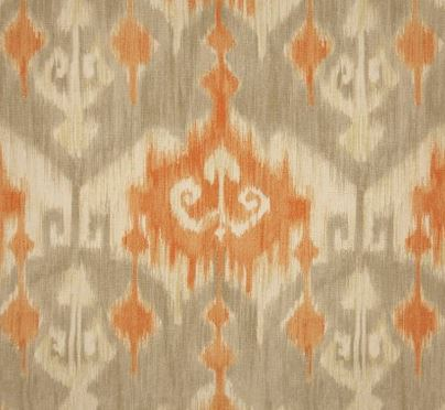 richloom fabric - orange