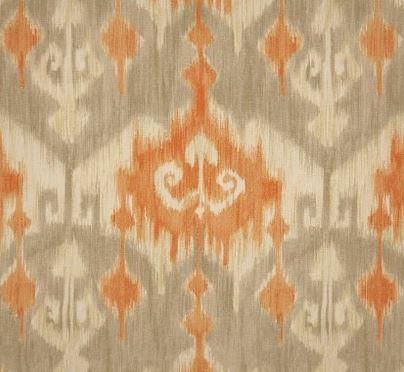 richloom fabric - orange