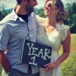 wedding week: first anniversary deets