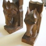 horse bookends: tacky is the new pretty