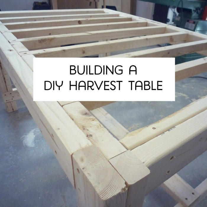 building a DIY harvest table with Ana White plans the sweetest digs