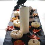 a hallowe'en tablescape