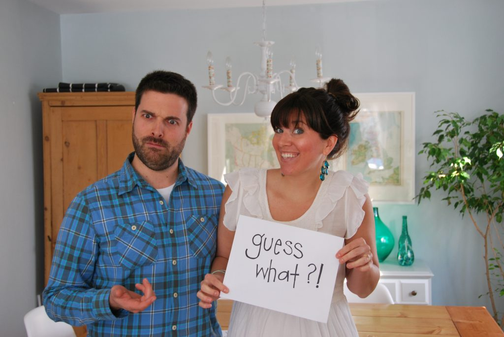 pregnancy announcement ideas howto DIY a photostrip the – Photo Baby Announcement Ideas