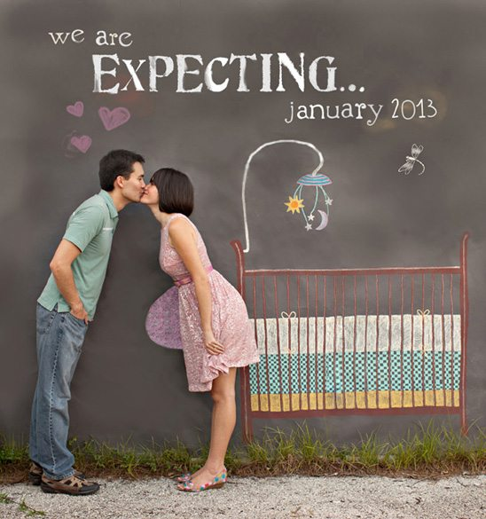 pregnancy announcement ideas + how-to DIY a photostrip - the sweetest ...