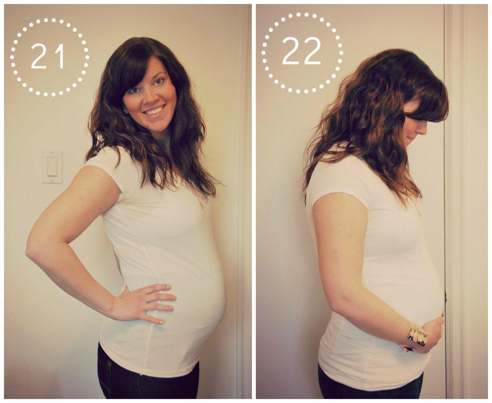 pregnancy - weeks 21 and 22