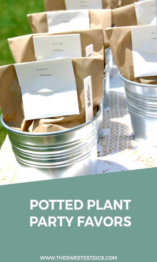 Want to make a cute baby shower favor or wedding favor? These plant seed favors that come in a planter pot are so cute, easy to put together, and budget friendly. Click through for the full tutorial and source list!