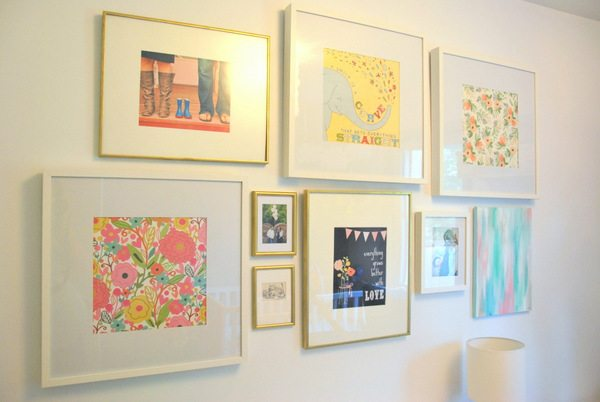 project nursery: a gallery wall - THE SWEETEST DIGS