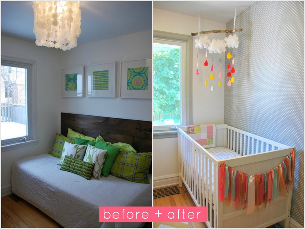 nursery-before and after collage1