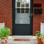 painting a screen door black