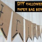 the DIY files: a paper bag halloween bunting