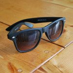 DIY aztec sunglasses