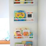 use IKEA spice rack as bookshelves