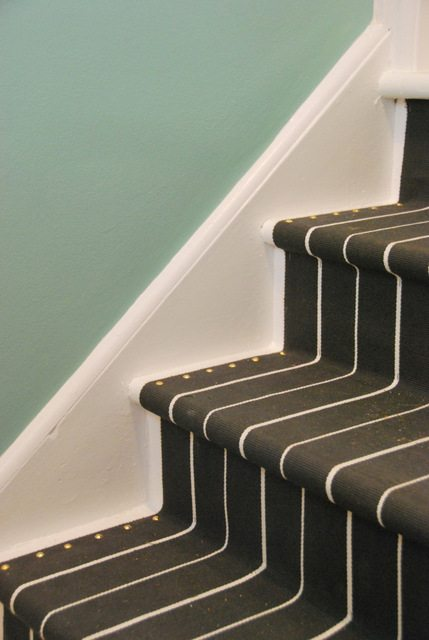 Diy Stair Runner How To Install A Diy Stair Runner With