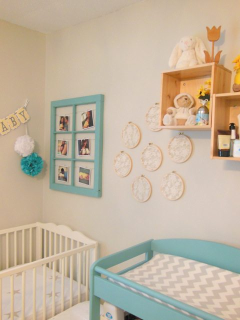 A Sweet Blue and Yellow Nursery