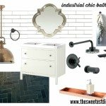 reno planning: a french industrial bathroom design