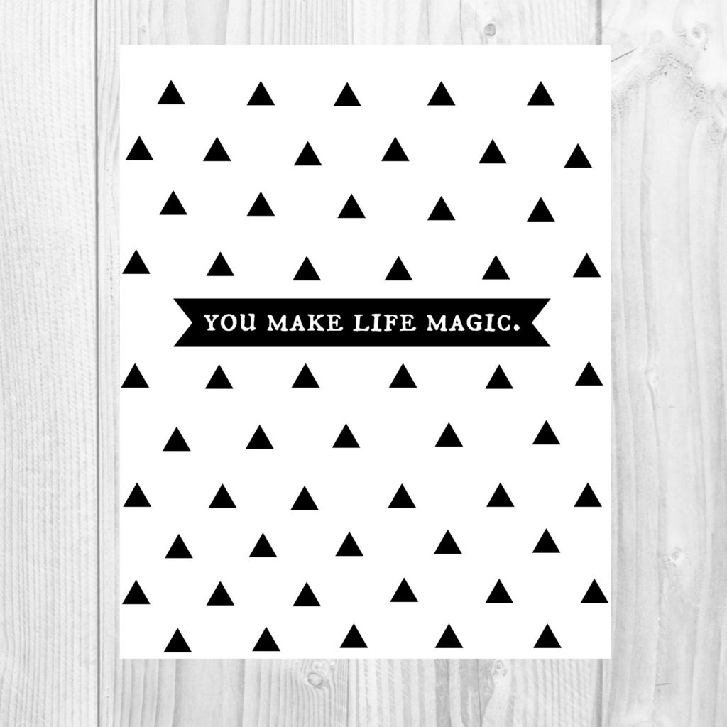 graphic 30 -make life magic