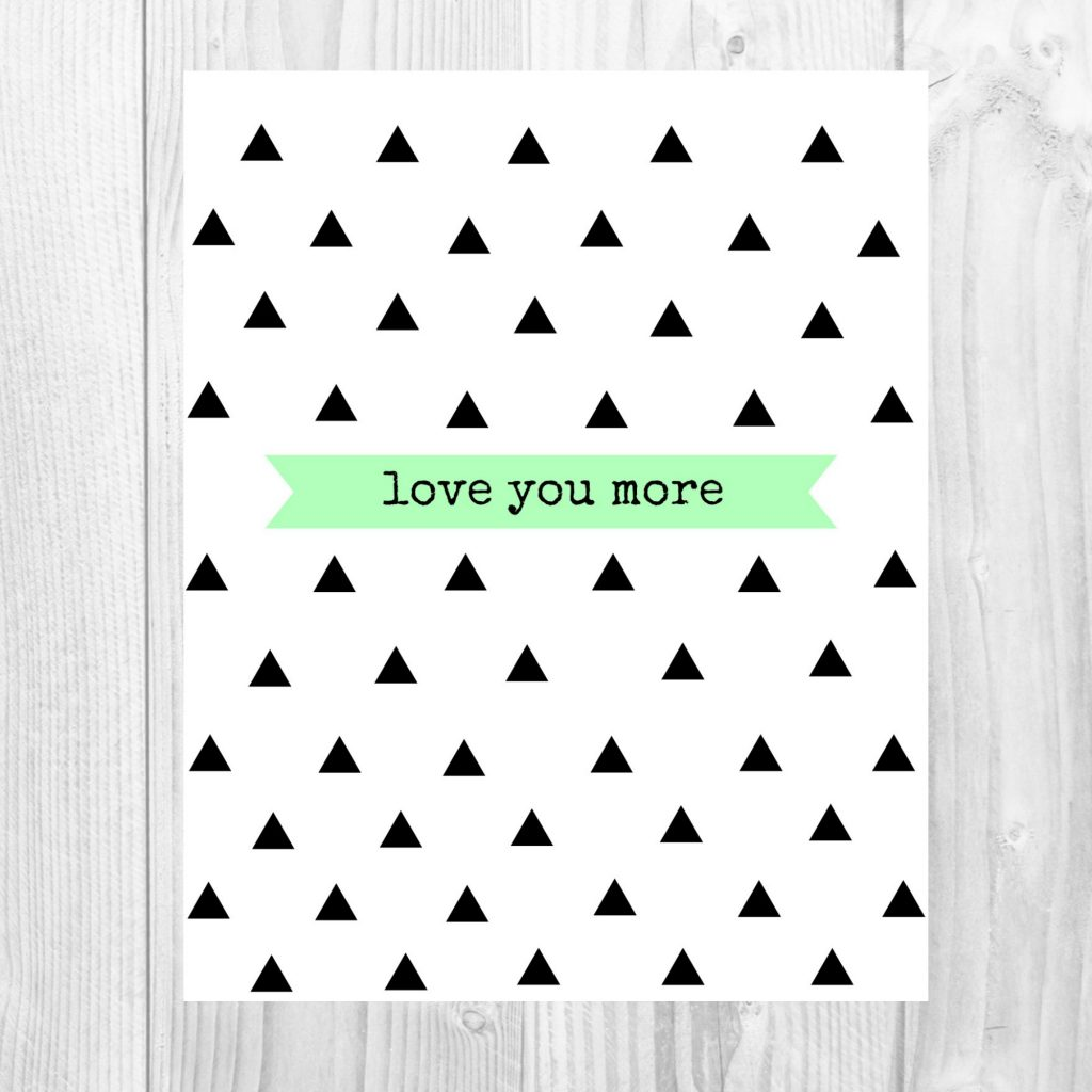 graphic 31- love you more