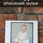 Maya's first year: Shutterfly photobook review