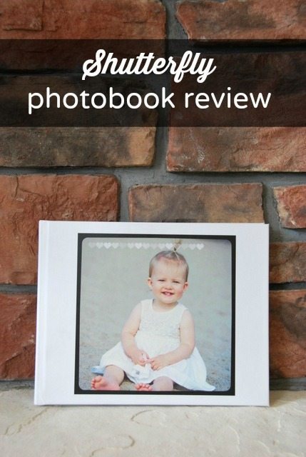 Baby's First Year Shutterfly Photobook Review
