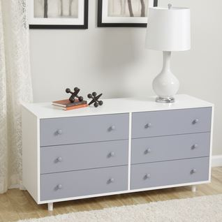 dresser inspiration grey and white