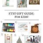 Etsy gift guide for kids… AND a giveaway!