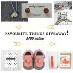 favourite things holiday giveaway