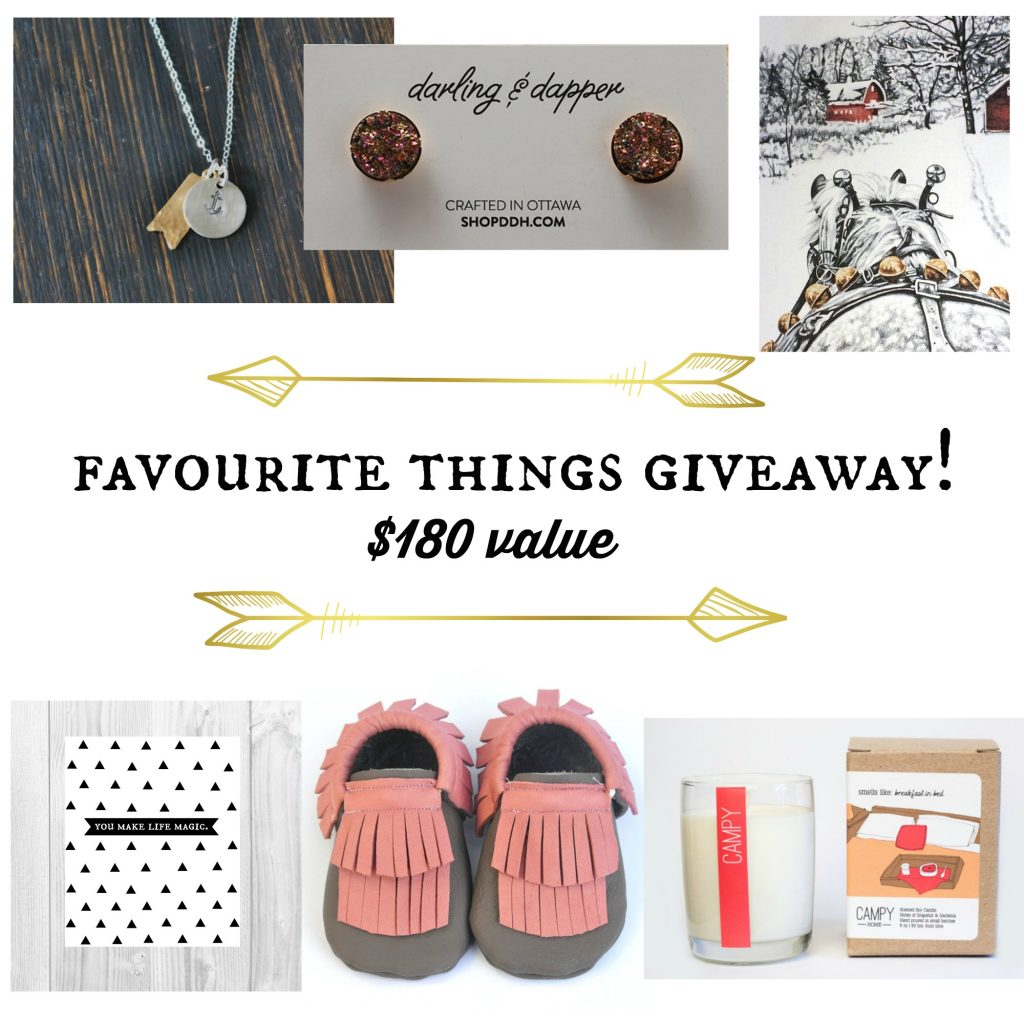 favourite things giveaway, via the sweetest digs