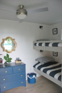 cottage nautical bunk house
