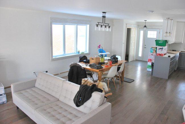 house reno: main floor layout ideas - via the sweetest digs