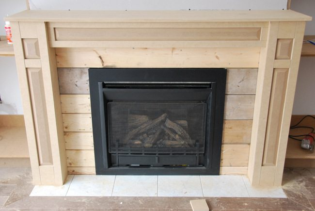 fireplace built in shelving 4 - via the sweetest digs