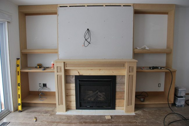 Unique How To Design and Build Gorgeous DIY Fireplace Built Ins - THE  UN78
