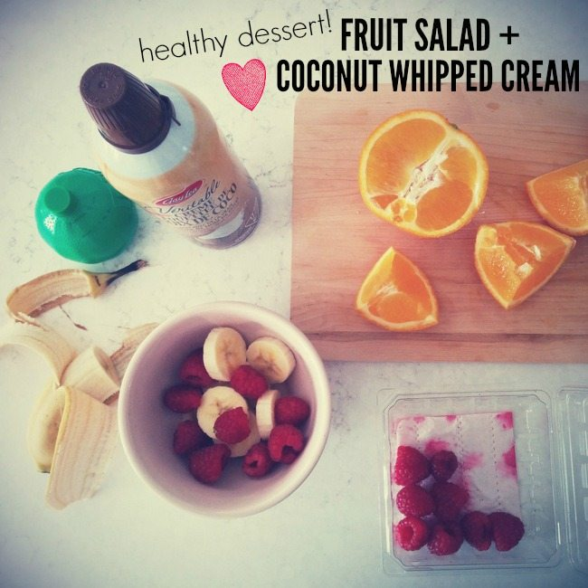 sweet find: coconut whipped cream