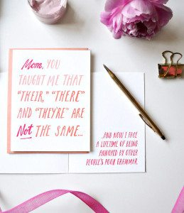 mothers day card - via the sweetest digs