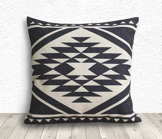 tribal pillow case- via the sweetest digs